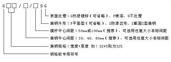 钢格栅常见型号规格G405/30/100 G505/30/100介绍